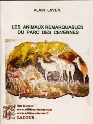 Les animaux remarquables du parc des Cévennes. Peintures sur lauzes - Editions Lacour - 9782750423827 -