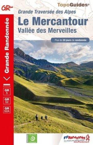 Le Mercantour- Vallée des Merveilles - FFRandonnée - 9782751410727 -