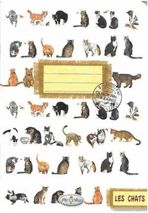 Les chats - Piccolia - 9782753029699 -
