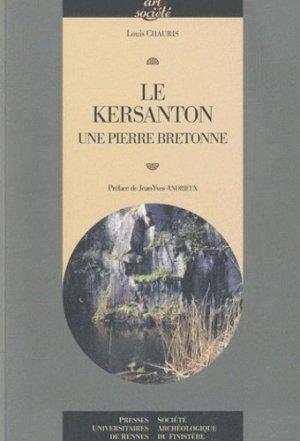 Le Kersanton. Une pierre bretonne - presses universitaires de rennes - 9782753511620 -