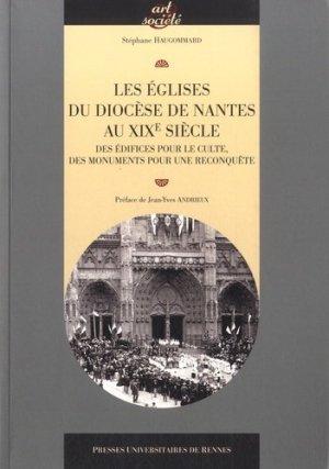 Les églises du diocèse de Nantes au XIXe siècle - presses universitaires de rennes - 9782753541481 -