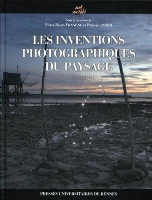 Les inventions photographiques du paysage - presses universitaires de rennes - 9782753551367 -