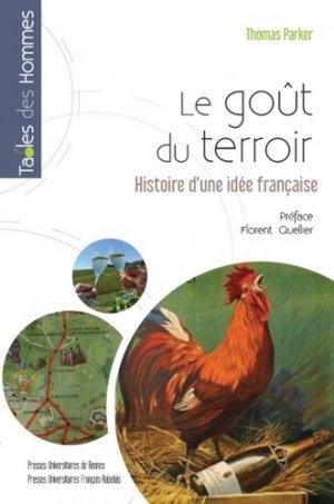 Le gout du terroir - presses universitaires de rennes - 9782753564664 -