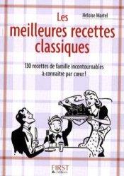 Les meilleures recettes classiques - Editions First - 9782754011853 -