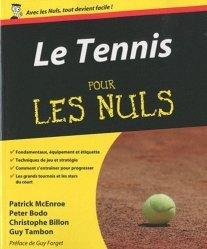 Le tennis pour les nuls - Editions First - 9782754017572 -