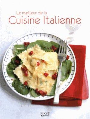 Le meilleur de la cuisine italienne - first éditions - 9782754074520 -