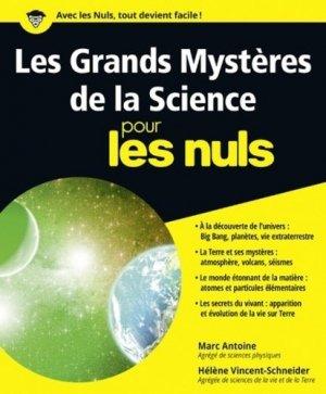 Les grands mystères de la science pour les nuls - first editions - 9782754083713 -