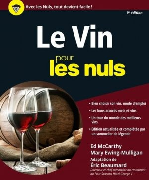 Le vin pour les nuls - first - 9782754088619 -