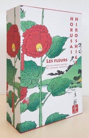 Les fleurs par les grands maîtres de l'estampe japonaise - hazan - 9782754110907 -