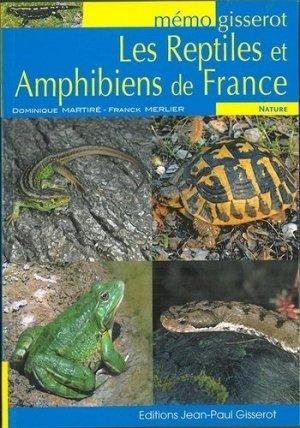 Les reptiles et amphibiens de France - jean-paul gisserot - 9782755805666 -