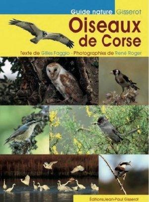 Les oiseaux de Corse - jean-paul gisserot - 9782755807912 -