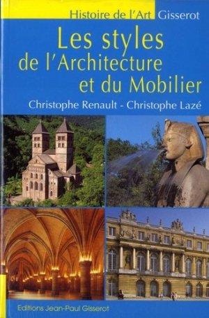 Les styles de l'architecture et du mobilier - gisserot - 9782755808667 -