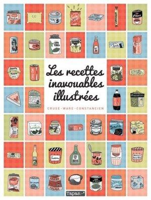 Les recettes inavouables illustrées - Delcourt - 9782756091761 -