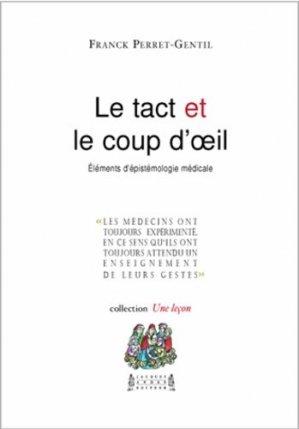 Le tact et le coup d'oeil - cei / jacques andre - 9782757002728 -