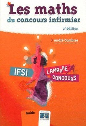 Les maths du concours infirmier - lamarre - 9782757304822 -