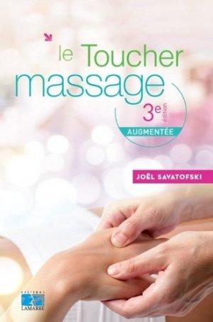 Le toucher massage - lamarre - 9782757308363