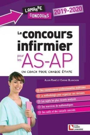 Le concours infirmier pour les AS-AP - lamarre - 9782757310779 -