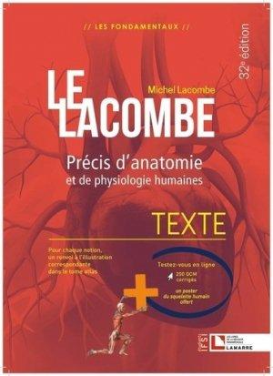 Le Lacombe Texte + Atlas - lamarre - 9782757310830 -