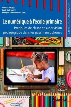 Le numérique à l'école primaire - Presses Universitaires du Septentrion - 9782757423660 -