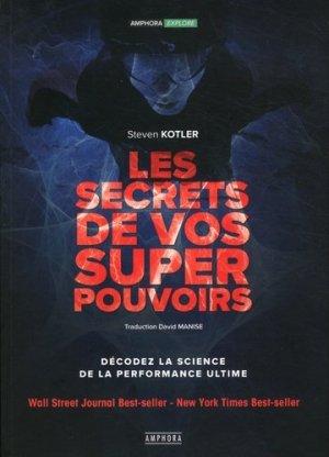 Les secrets de vos superpouvoirs - Amphora - 9782757603451