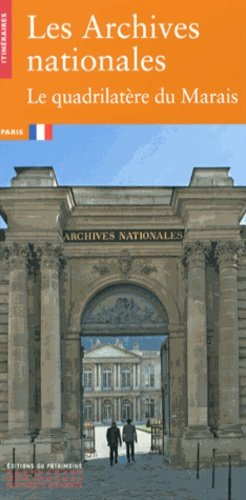 Les Archives nationales - patrimoine ( éditions du ) - 9782757703038 -