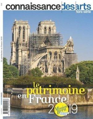 Le patrimoine en France 2019 - connaissance des arts - 9782758009337