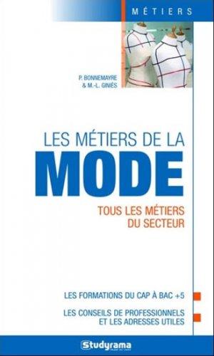 Les métiers de la mode - studyrama - 9782759024100 -