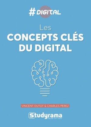 Les concepts clés du digital - studyrama - 9782759038404 -