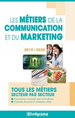 Les métiers de la communication et du marketing - studyrama - 9782759039210 -