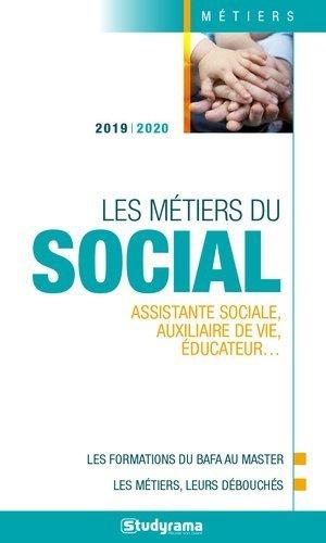 Les métiers du social - Studyrama - 9782759040353 -