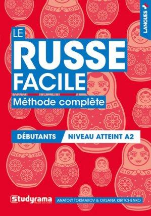 Le russe facile - Studyrama - 9782759041176 -
