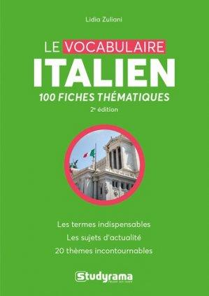 Le Vocabulaire Italien - studyrama - 9782759041213 -