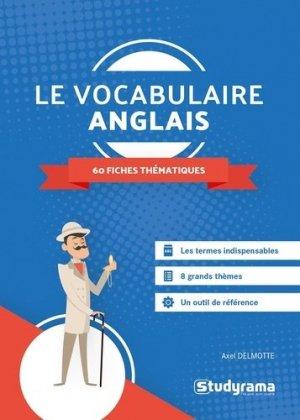 Le vocabulaire anglais - Studyrama - 9782759045655 -