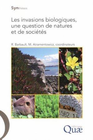 Les invasions biologiques, une question de natures et de sociétés - quae  - 9782759203727 -