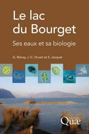 Le lac du Bourget - quae  - 9782759217021 -
