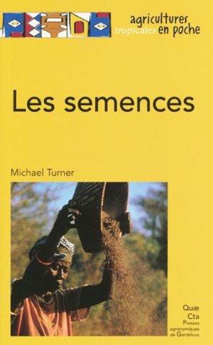 Les semences - quae  - 9782759218929 -