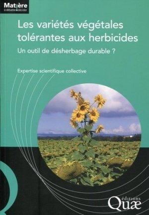 Les varietés végétales tolérantes aux herbicides - quae  - 9782759221257 -