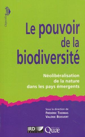 Le pouvoir de la biodiversité - quae  - 9782759223701 -