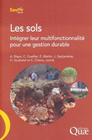Les sols - quae - 9782759223923 -
