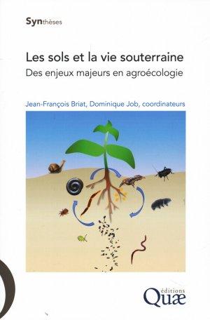 Les sols et la vie souterraine - quae - 9782759226511 -