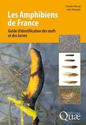 Les amphibiens de France - quae - 9782759226641 -