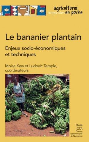 Le bananier plantain - quae - 9782759226795 -