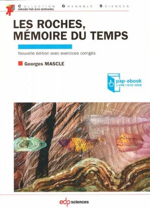 Les roches, mémoire du temps - edp sciences - 9782759812653 -