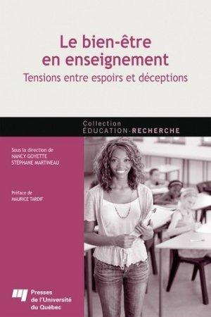 Le bien-être en enseignement - Presses de l'Université du Québec - 9782760553439 -