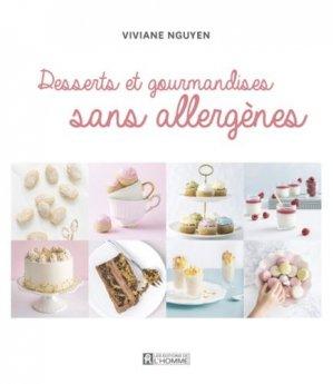 Les desserts de Petit Lapin. Pâtisseries et gourmandises sans allergènes, sans gluten, végétaliennes - de l'homme - 9782761949064 -