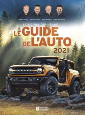 Le guide de l'auto 2021 - de l'homme - 9782761954365 -
