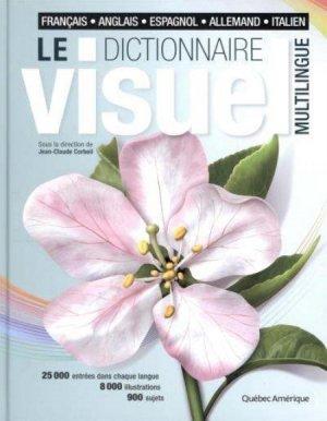 Le dictionnaire visuel multilingue - quebec amerique - 9782764410707 -
