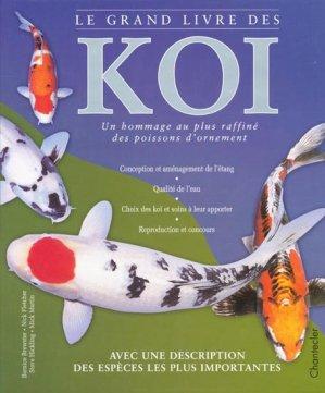 Le grand livre des koï - chantecler - 9782803442706 -