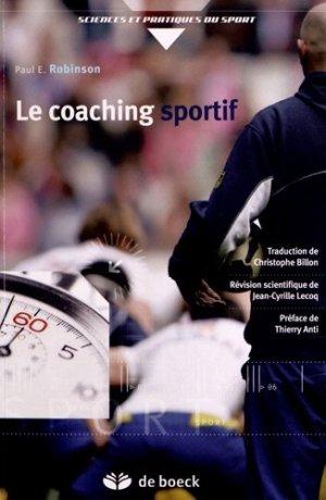 Le coaching sportif - de boeck superieur - 9782804171506 -