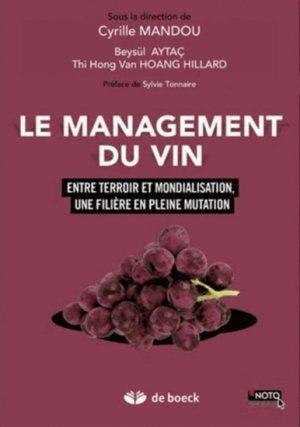 Le management du vin - de boeck superieur - 9782804187651 -